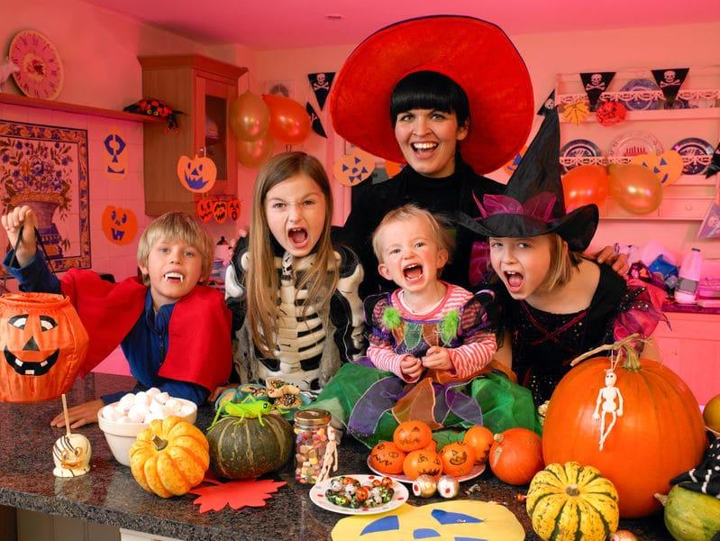 Ideas divertidas para un Halloween con niños
