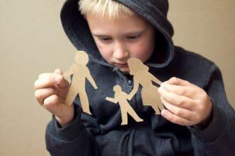 Niños en una separación matrimonial