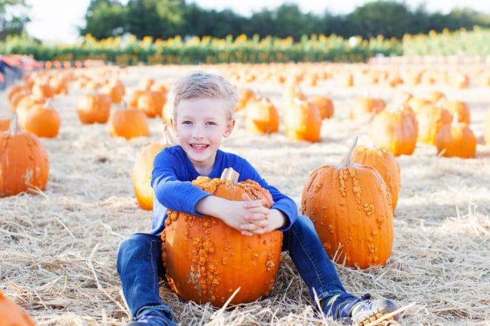 Planes de Halloween con niños