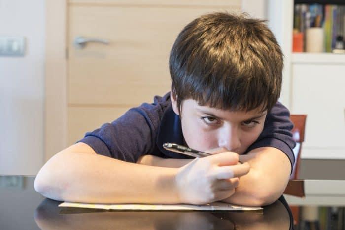 Quejas comunes niños escuela