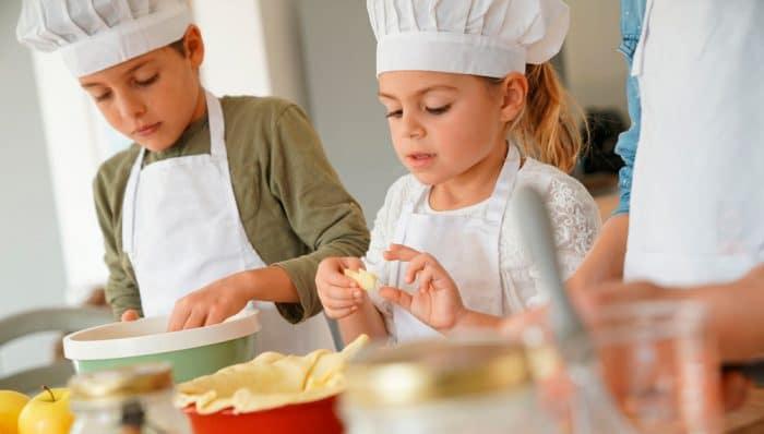 Taller de cocina castañada niños