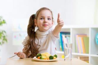 Vitaminas para niños que no comen