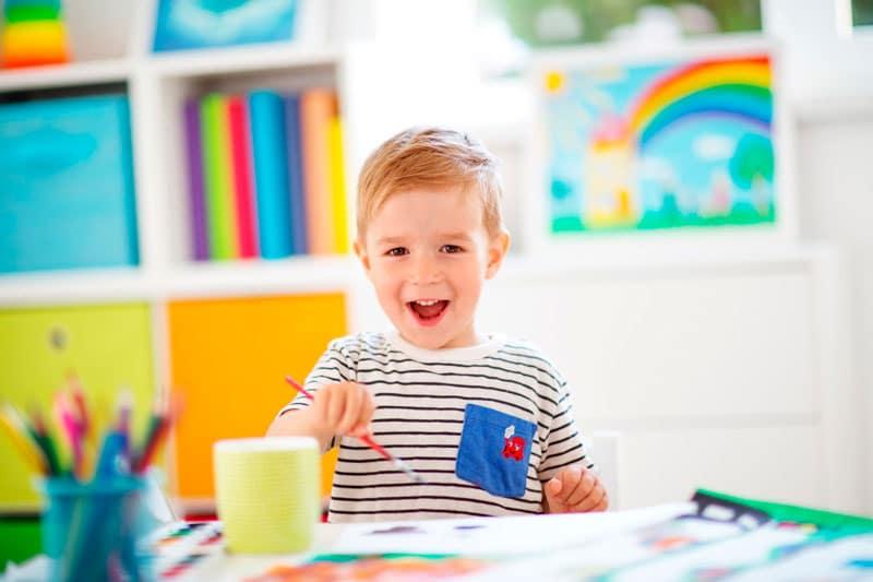 felicidad niños