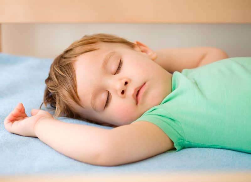 La importancia del sueño en niños