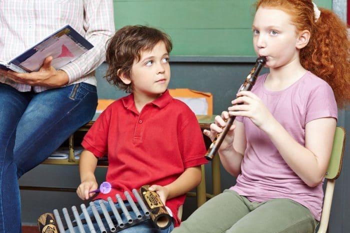 Beneficios educación clases música