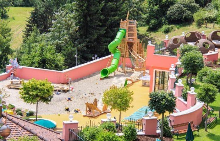 Cavallino Bianco Family Spa Grand Hotel en Ortisei, Italia