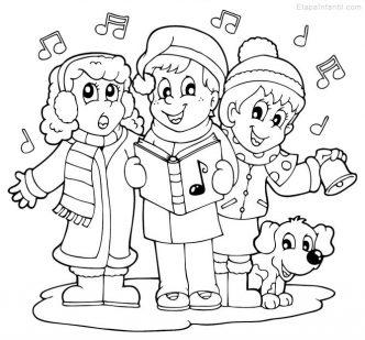 Dibujos de navidad para dibujar para ninos