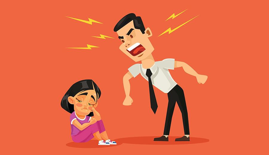 El mal humor del padre pueden afectar el desarrollo emocional de sus hijos