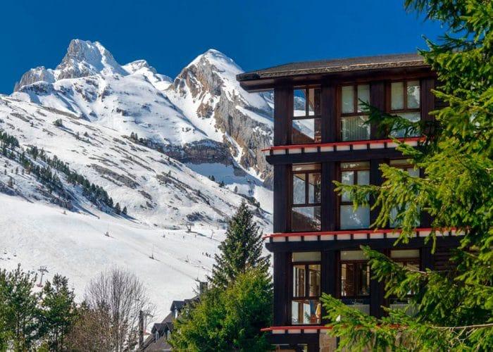 Hotel Candanchú, en Huesca