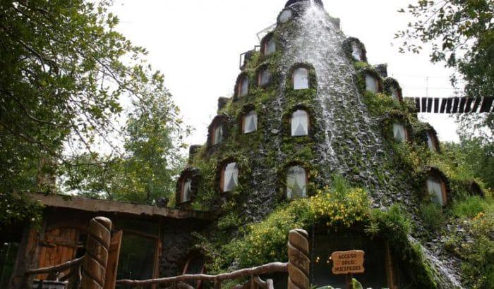 Hotel La Montaña Mágica Lodge en Reserva Huilo Huilo, Chile