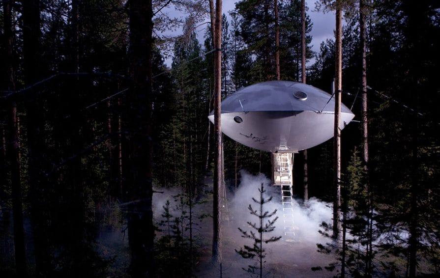 Hotel Treehotel en Harads, Suecia