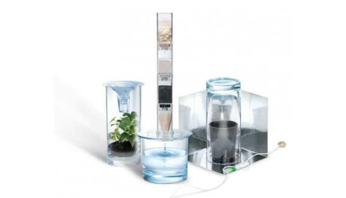 Juguete ecológico Kit purificador de agua