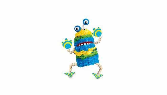 Juguete ecológico Kit reciclado marioneta