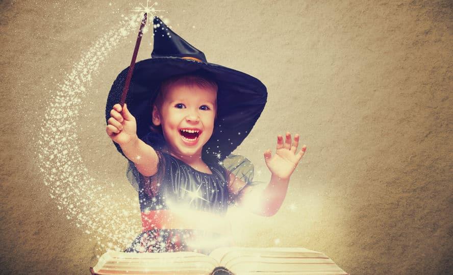 Juguetes y juegos de magia para niños