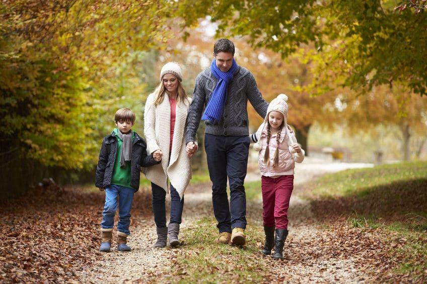 Los beneficios de caminar al aire libre