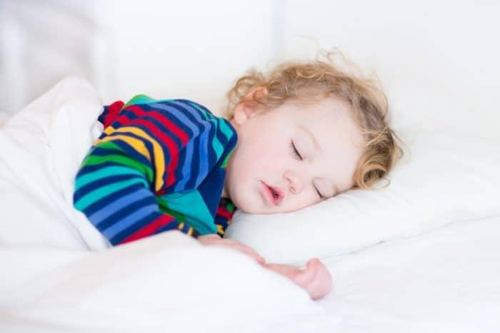 Niño no duerme bien