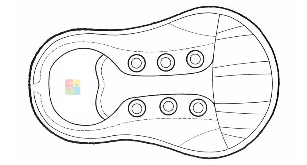Único Plantilla De Zapato Imprimible Molde - Colección De Plantillas ...