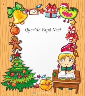 Querido Papá Noel carta