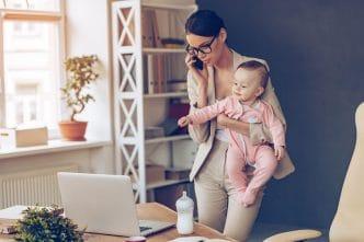 madre equilibrio trabajo familia
