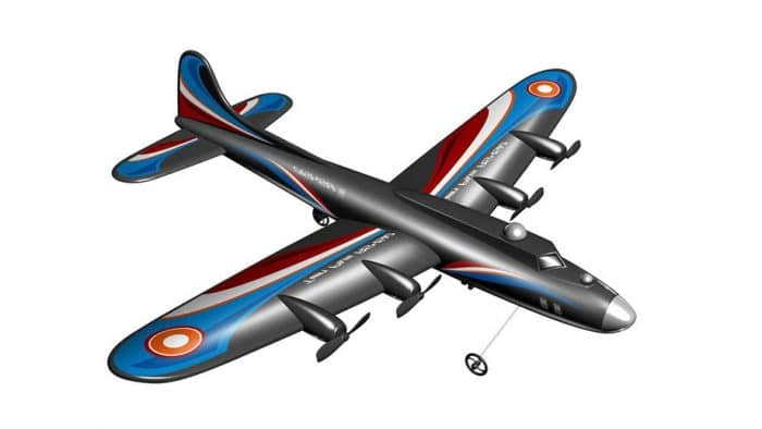 Juguete radiocontrol Avión RC Cuatrimotor