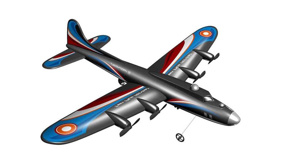 Avión RC Cuatrimotor
