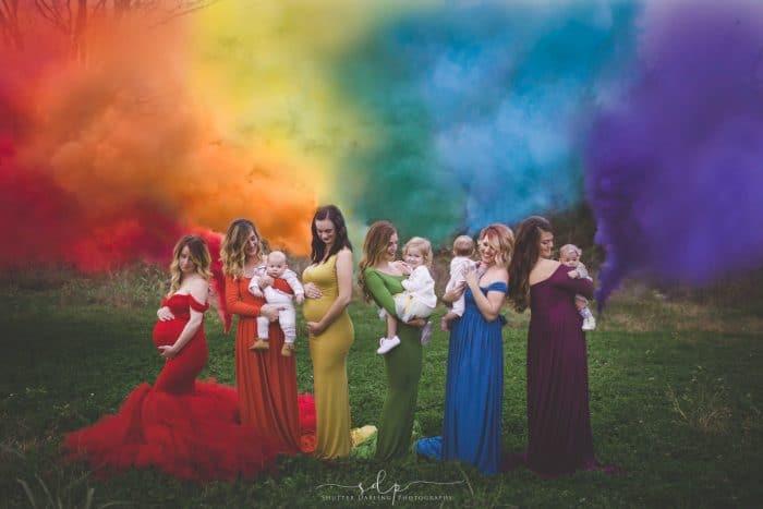Bebés arco iris