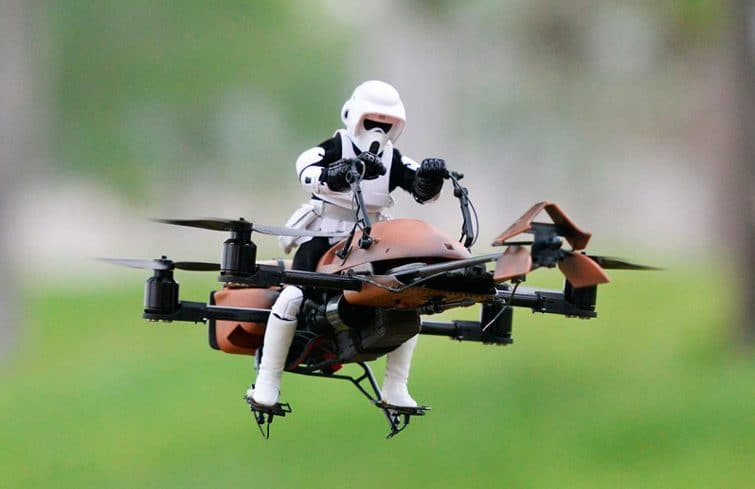 Drone 74-Z Speeder Bike Star Wars