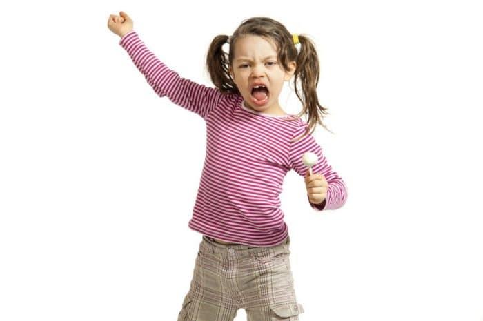 Falta de regulación emocional en niños