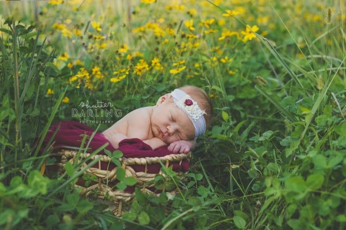 Foto bebé acro iris