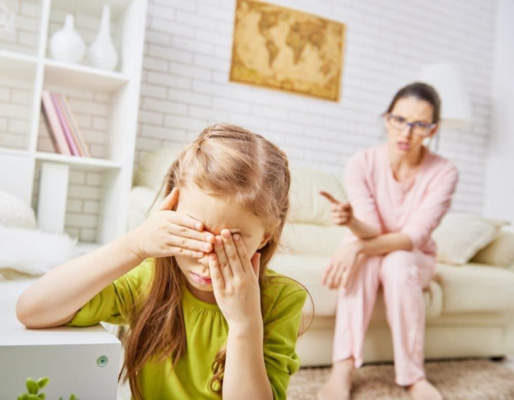 Hijos presionados estrés