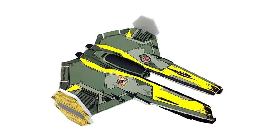 Juguete Star Wars Planeador Jedi Starfighter Star Wars