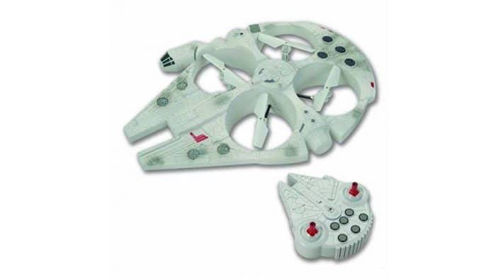 Juguete Star Wars para niños Drone Halcón Milenario