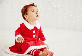 Looks navideños infantiles