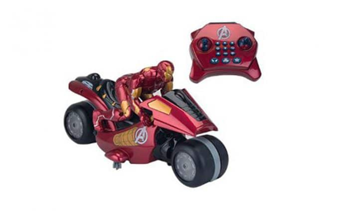 Juguete radiocontrol Motocicleta Iron Man