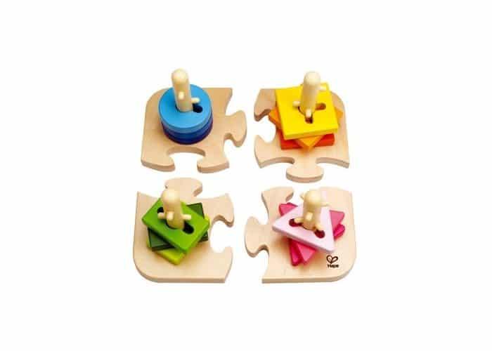 Juguete autismo Puzle apilable