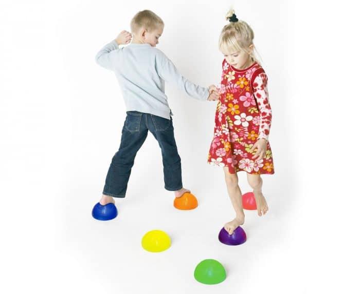 Juguete niños autismo Semiesfera de equilibrio
