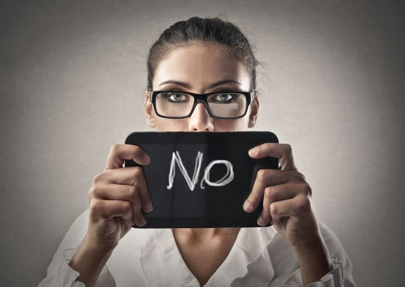Cosas decir no