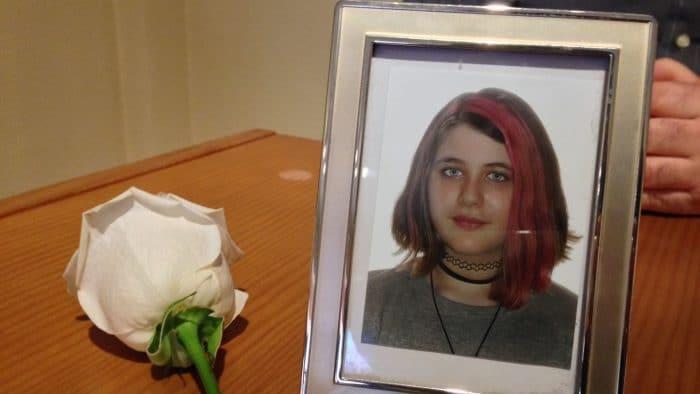 Lucía niña 13 años víctima acoso escolar
