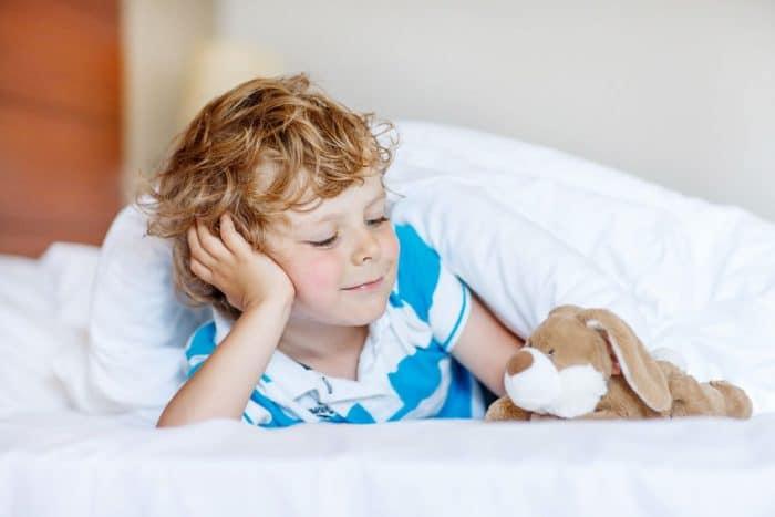 Mantener el tiempo de sueño en los niños