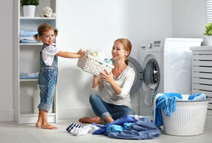 Tabla de tareas del hogar para los niños