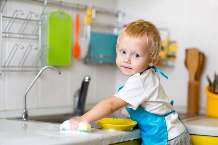 Tabla de tareas domésticas por edades