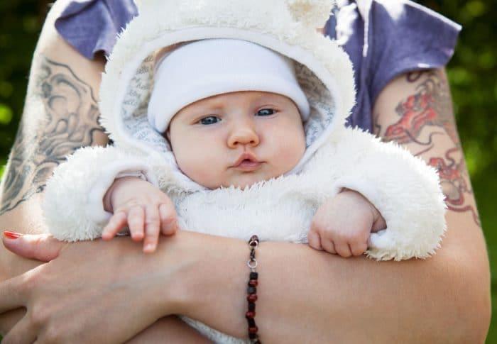 Tatuaje honor hijos