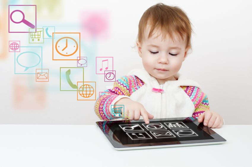 Tecnología niños pequeños