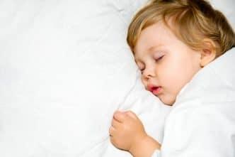 Tiempo de sueño en los niños