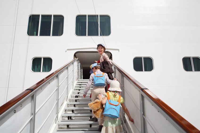crucero niños pequeños
