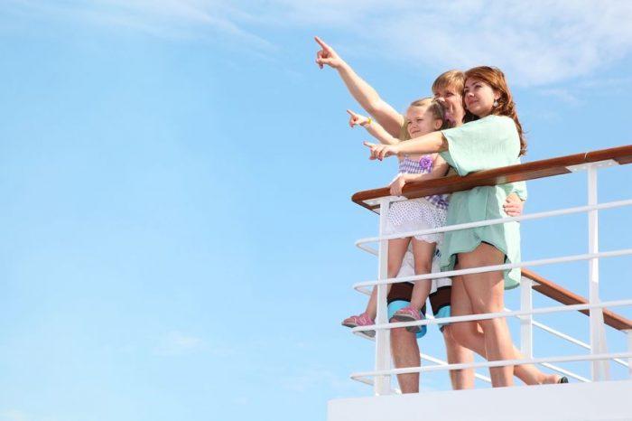 crucero viajar niños pequeños