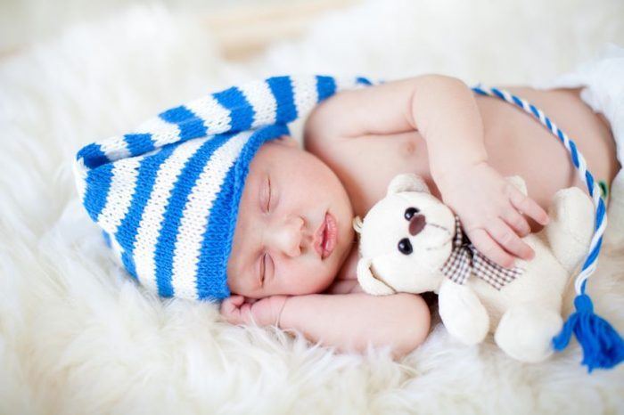 Bebé duerme mucho