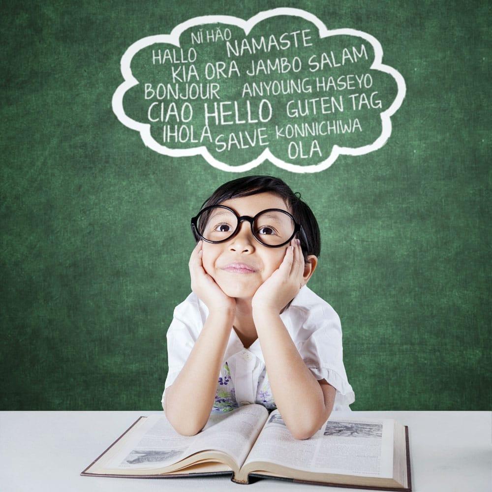 Beneficios aprender idiomas niños