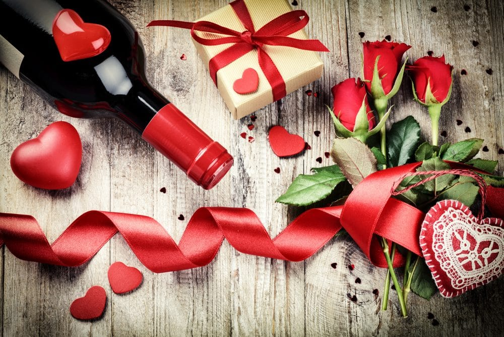 Celebrar San Valentín nueva mamá