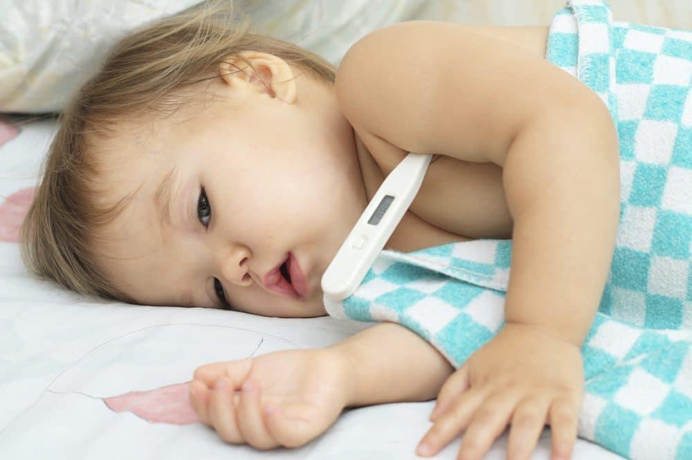 Convulsión febril bebé
